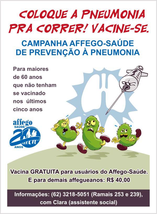 Vacinação - Pneumonia