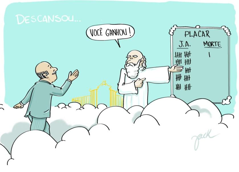 Adeus ao vice-presidente José Alencar, que lutou bravamente contra o câncer.