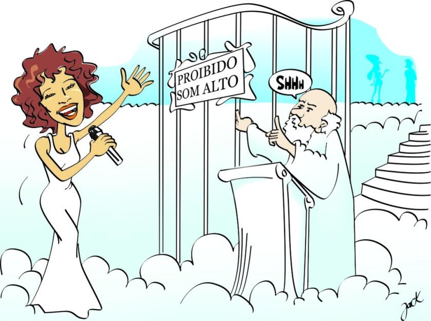 Adeus à diva Whitney Houston (Newark, 9 de agosto de 1963 — Beverly Hills, 11 de fevereiro de 2012.